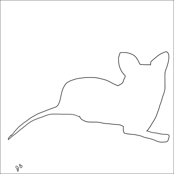 Picasso Line Drawings Of Animals : Noise cycle archives kitten line drawings